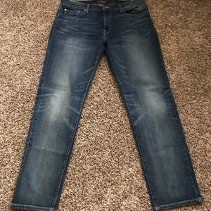 Lucky Brand Mens 221 Straight Jeans 36/32